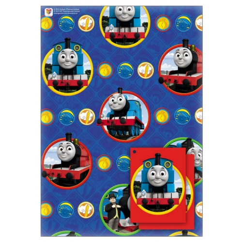Thomas The Tank Gift Wrap Decoration