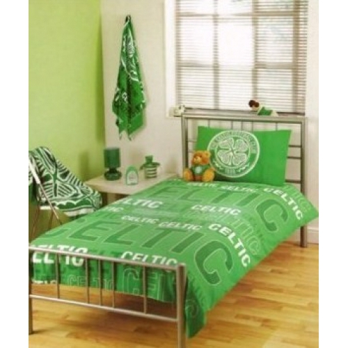 Celtic Qcs 1888 Fc Football Rotary Official Single Bed Duvet Quilt Cover Set