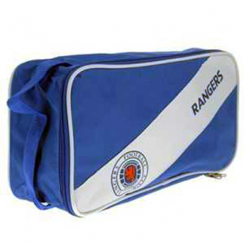 Rangers Fc 'Stripe' Football Boot Bag Official Accessories