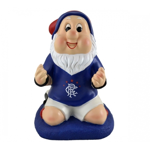 Rangers Fc Gnome Football Soccer Set Official Accessories