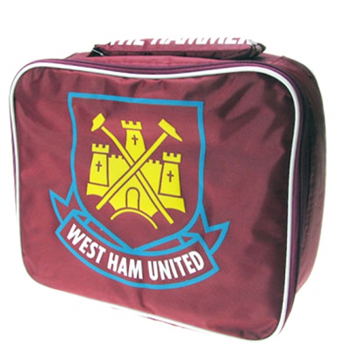 West Ham United Fc Football Rectangle Lunch Bag Official