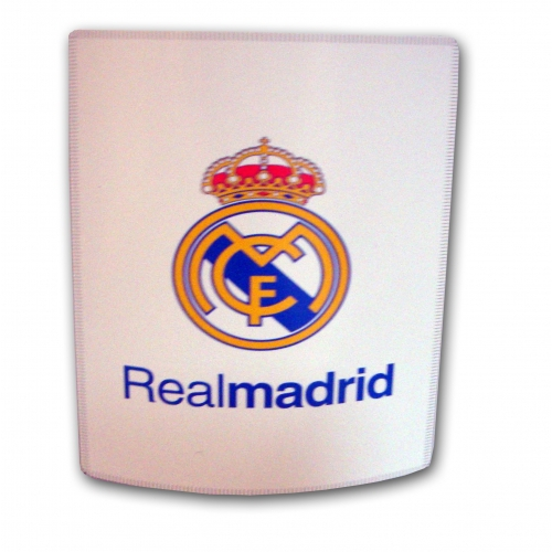 Real Madrid Fc Football Panel Official Fleece Blanket Throw