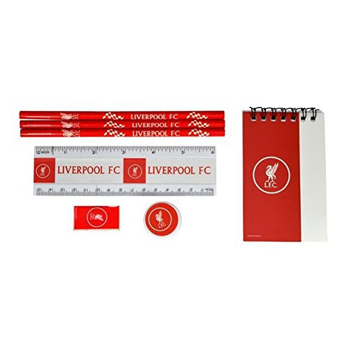 Liverpool Fc 'Wordmark' Stationery Set Football Official