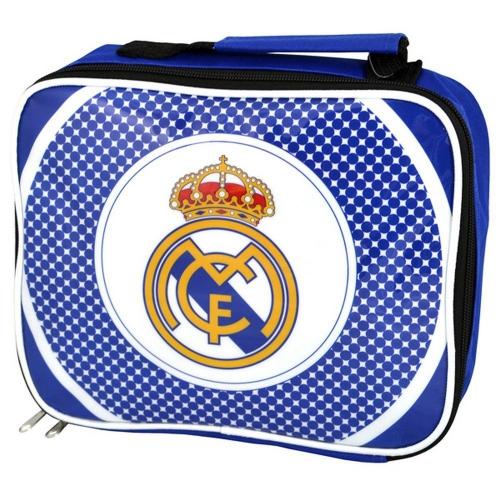 Real Madrid Fc 'Bullseye' Lunch Bag Football Premium Official