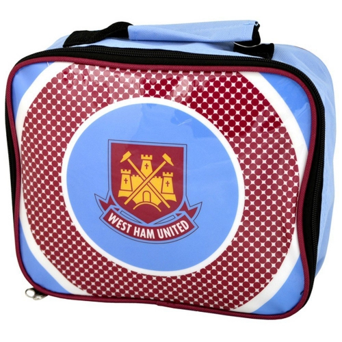 West Ham United Fc 'Bullseye' Football Premium Lunch Bag Official