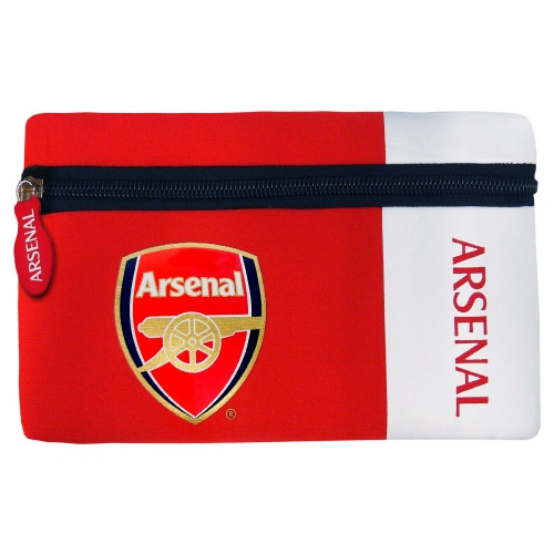 Arsenal Fc 'Woodmark' Football Pencil Case Official Stationery