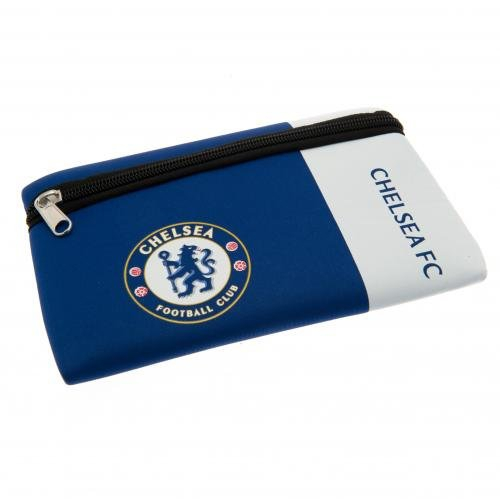 Chelsea Fc 'Wordmark' Pencil Case Football Official Stationery