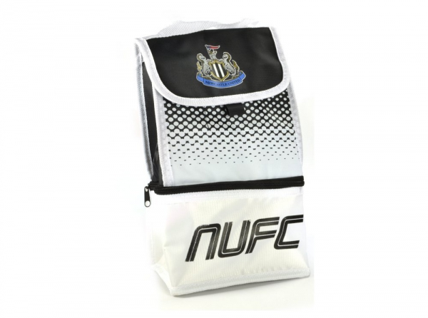 Newcastle United Fc 'Fade' Dual Compartment Football Premium Lunch Bag Official