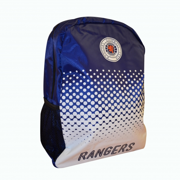 Rangers Fc 'Fade' Football Official Backpack