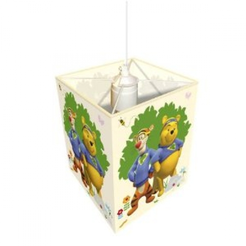 Disney My Friends Tigger and Pooh Fabric Shade Lighting