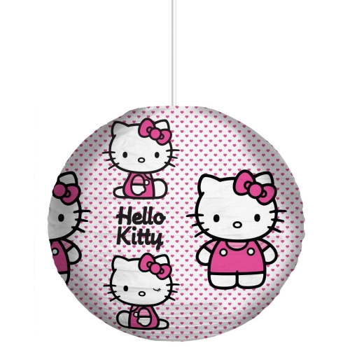 Hello Kitty 'Hearts' Paper Shade Lighting
