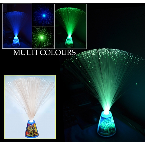 Teenage Mutant Ninja Turtles Fibre Optic Lamp