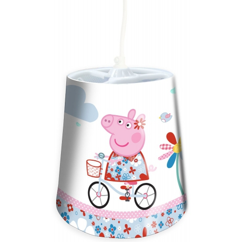 Peppa Pig 'Bicycle Ride' Tapered Shade Lighting