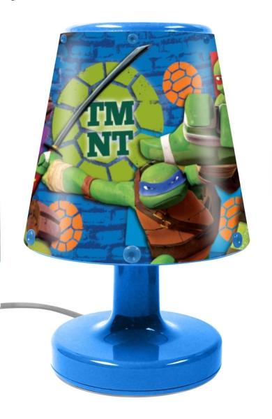 Teenage Mutant Ninja Turtles Bedside Light