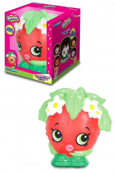 Shopkins 'Strawberry Kiss' Illuimi-mates Led Light