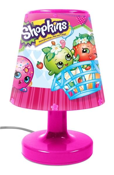 Shopkins Pink Bedside Light
