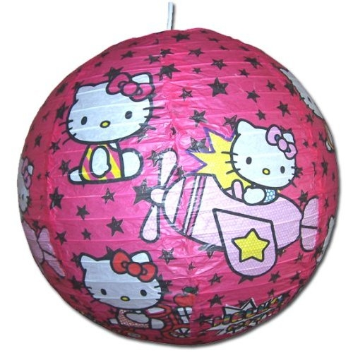 Hello Kitty Paper Shade Lighting