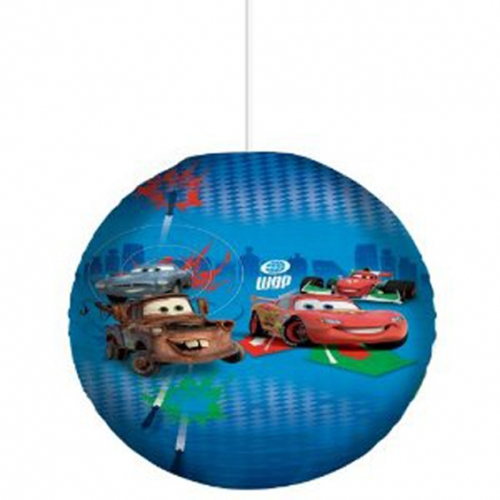 Disney Cars 2 'Wgp' Paper Shade Lighting