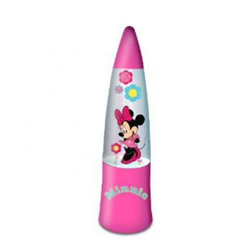 Disney Minnie Mouse 'I Love Minnie' Glitter Lamp