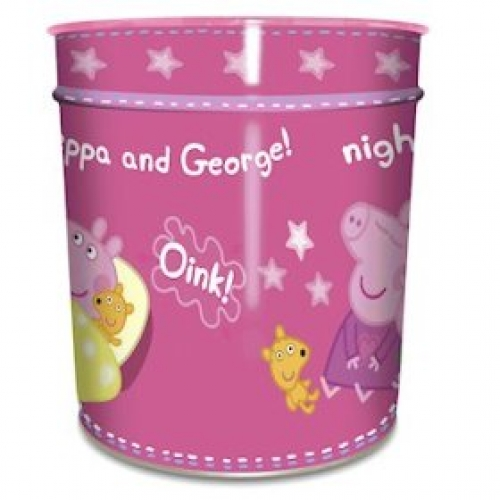 Peppa Pig Bed Time Waste Bin