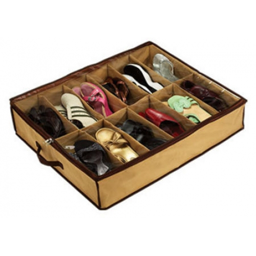 Underbed Shoe Tidy 12 Pairs