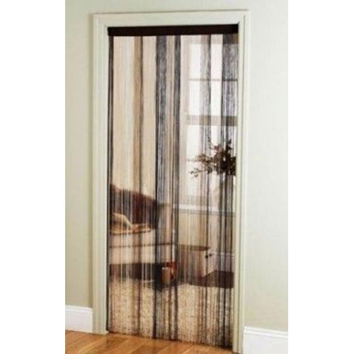 Multi Cream 'String' Door Curtain