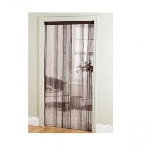 Multi Black String Door Curtain