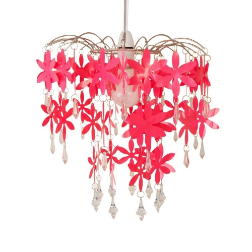 Urban Life Chic Hot Pink Chandelier
