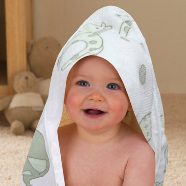 Elli & Raff Hooded Towel Baby Care