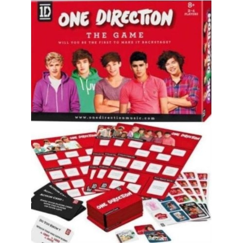 One Direction 'The Game' Board Game Puzzle