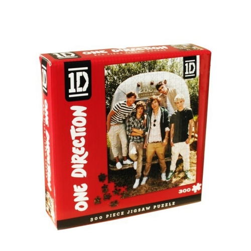 One Direction 300 Piece Jigsaw Puzzle Game