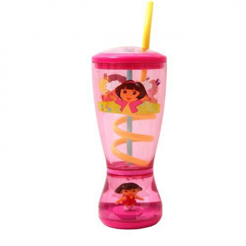 Dora The Explorer Glitter Dome Bubble Tumbler