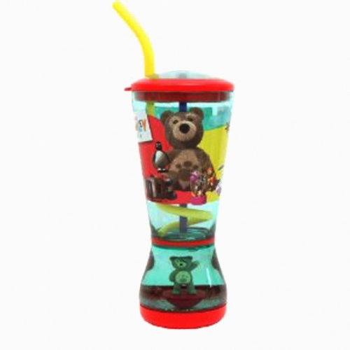 Little Charley Bear Glitter Dome Bubble Tumbler