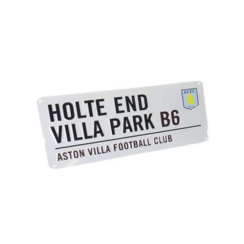 Aston Villa Fc Football Street Sign Official Board