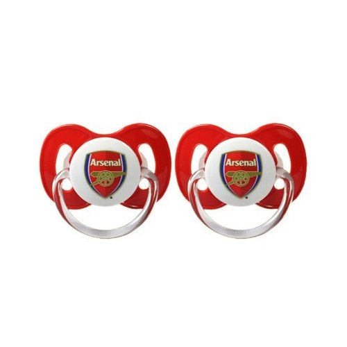 Arsenal Fc Football Soother Official Zero Month 0m+ Baby Care