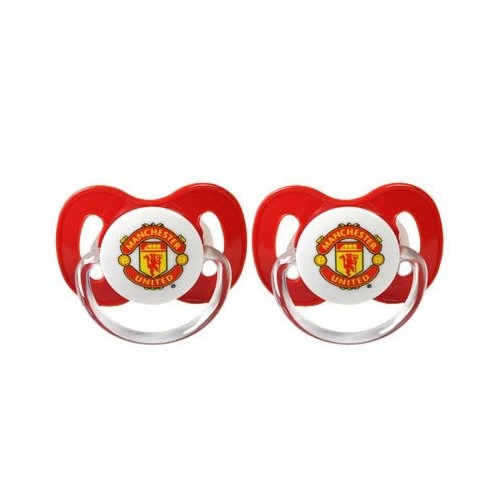 Manchester United Fc Football Soother Official Zero Month 0m+ Baby Care
