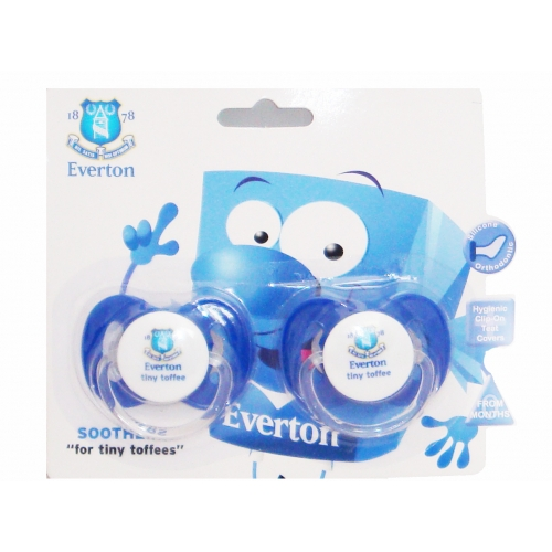 Everton Fc Football Soother Official Zero Month 0m+ Baby Care