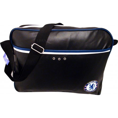 Chelsea Fc Leather Football Laptop Bag Official Computer Accessories