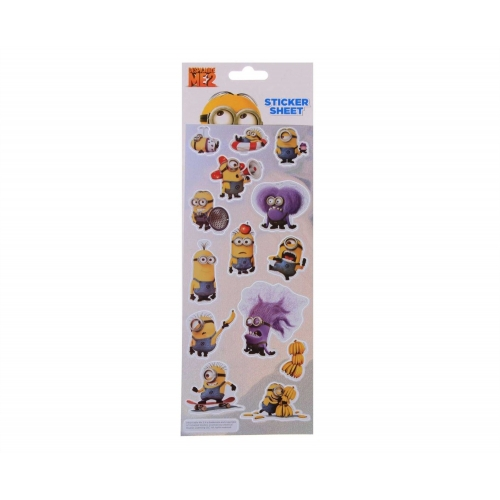 Despicable Me 2 Minions Stickers Decoration