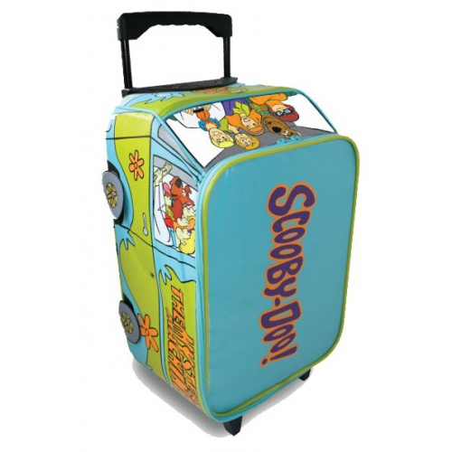 Scooby Doo 'Mistery Machine' School Travel Trolley Roller Wheeled Bag
