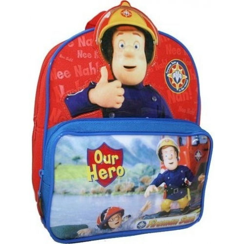 Disney Fireman Sam Hero School Bag Rucksack Backpack