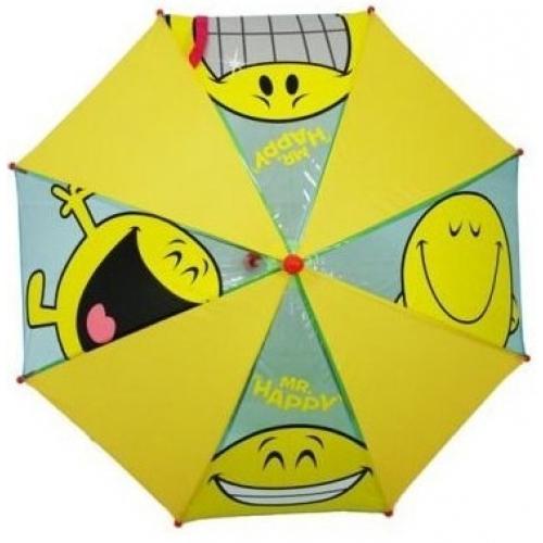 Mr Men Happy School Rain Brolly Umbrella