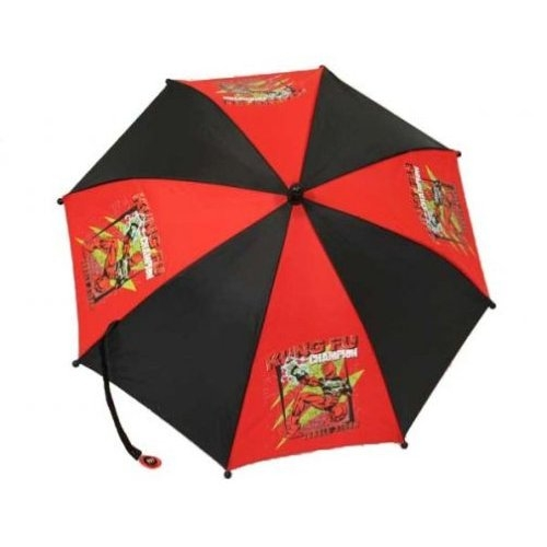 Power Ranger Jungle Fury Kung Fu School Rain Brolly Umbrella