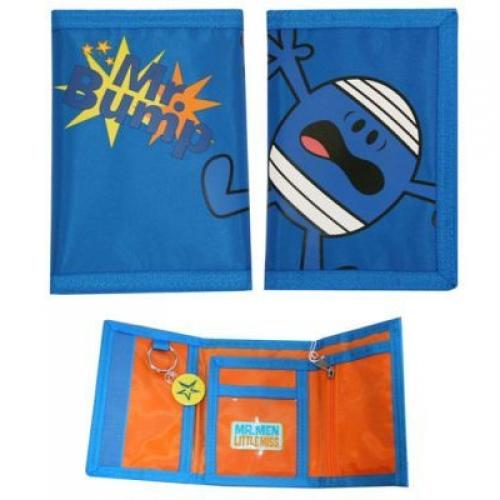 Mr Men Blue Wallet