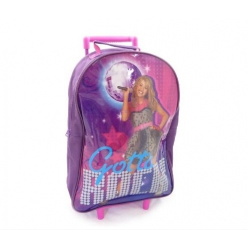 Disney Hannah Montana Gotta Include Wallet Backpack Swimbag Wheeled Bag Set