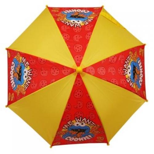 Sesame Street School Rain Brolly Umbrella