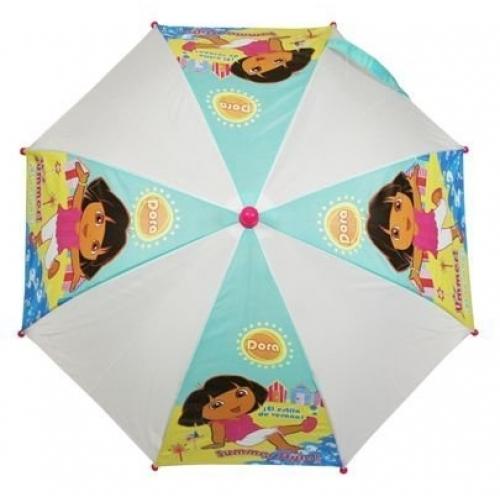 Dora The Explorer 'Summer Breeze' School Rain Brolly Umbrella