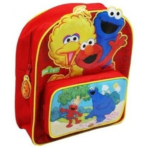 Sesame Street 123 School Bag Rucksack Backpack