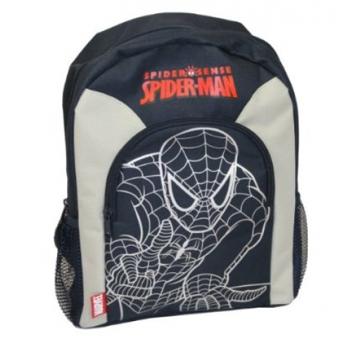 Spiderman Outline School Bag Rucksack Backpack