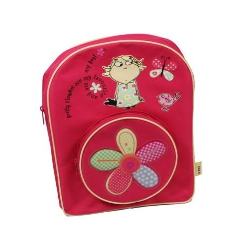 Charlie & Lola Flower School Bag Rucksack Backpack